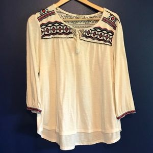 Gypsy Blouse with Beautiful Details